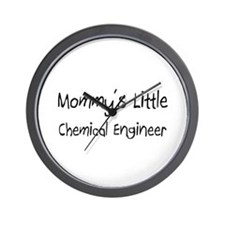 Mommy's Little Chemical Engineer Wall Clock