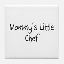 Mommy's Little Chef Tile Coaster