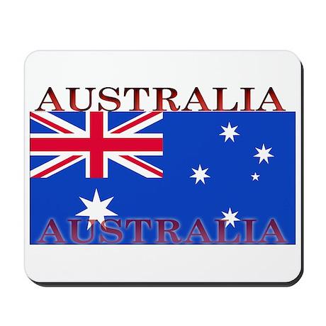 Australia Australian Flag Mousepad