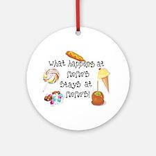 What Happens at Meme's... Ornament (Round)