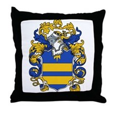 Holt Family Crest Throw Pillow