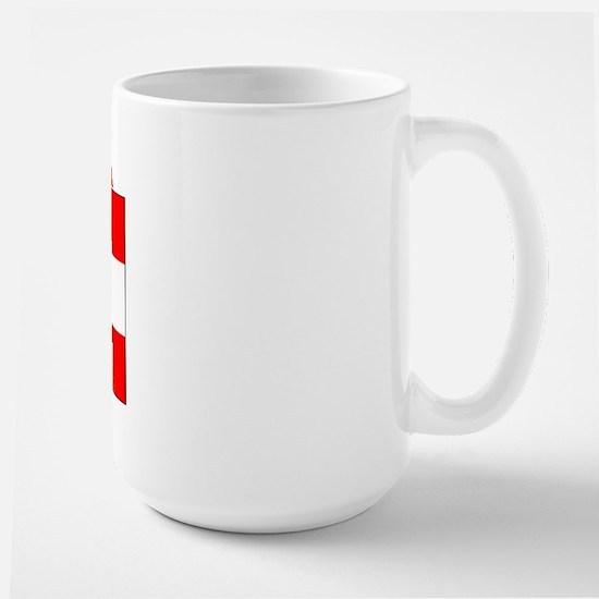 Austria Austrian Flag Large Mug