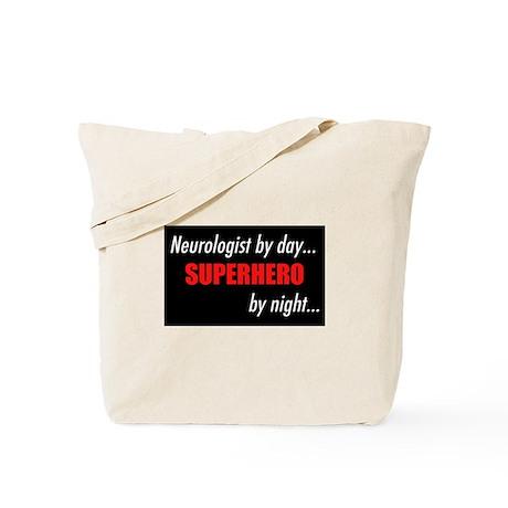 Superhero Neurologist Tote Bag