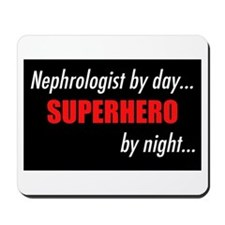 Superhero Nephrologist Mousepad
