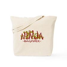 Dragon Ninja Bagpiper Tote Bag