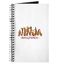 Dragon Ninja Bagpiper Journal