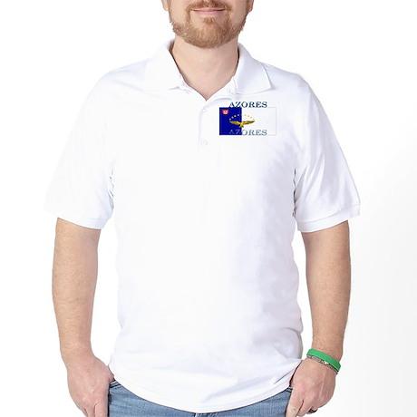 Azores Flag Golf Shirt