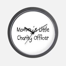 Mommy's Little Charity Fundraiser Wall Clock