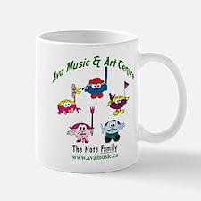 Ava Music Note Family Mug