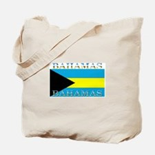 Bahamas Bahama Flag Tote Bag