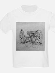 Brass 12 Pounder Kids T-Shirt