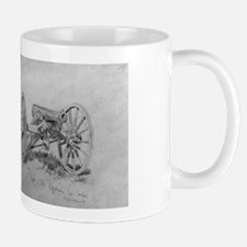 Brass 12 Pounder Cannon Civil War Gift Mug