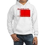 Bahrain Bahraini Flag Hooded Sweatshirt
