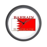 Bahrain Bahraini Flag Wall Clock