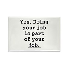 Cute Human resources Rectangle Magnet (10 pack)