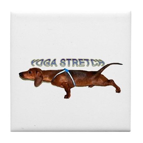 Yoga Stretch Tile Coaster