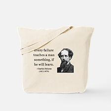 Charles Dickens 25 Tote Bag