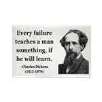 Charles Dickens 25 Rectangle Magnet