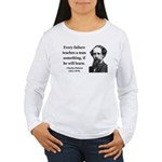 Charles Dickens 25 Women's Long Sleeve T-Shirt