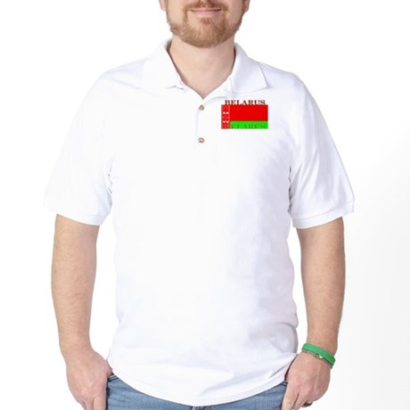 Belarus Belarussian Flag Golf Shirt