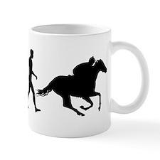 Horse Racing Evolution Mug