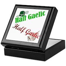 Half Gaelic Half Garlic Keepsake Box