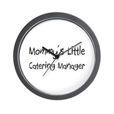 Mommy's Little Catering Manager Wall Clock