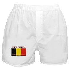 Belgium Belgian Flag Boxer Shorts