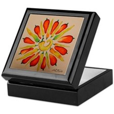 Hot pepper Daisy Keepsake Box