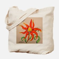 Hot Pepper Lily Tote Bag