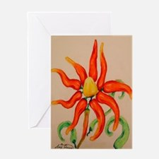 Hot Pepper Lily Greeting Card