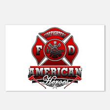 American Heroes Postcards (Package of 8)