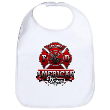 American Heroes Bib