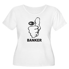 Number One Banker T-Shirt