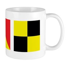 LOL Nautical Flags Mug