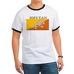 Bhutan Flag Ringer T
