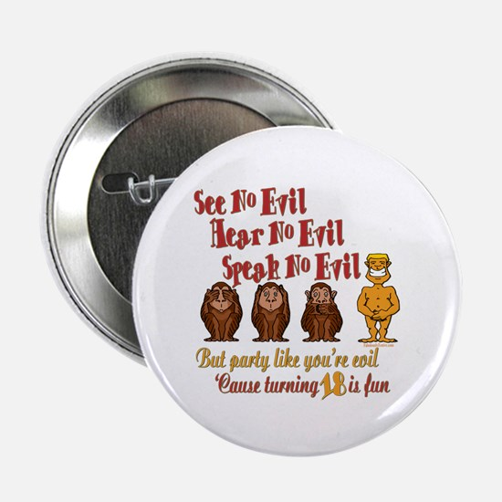 """Party 18th 2.25"""" Button (10 pack)"""