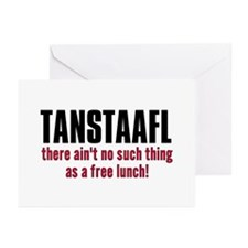 TANSTAAFL Greeting Cards (Pk of 10)