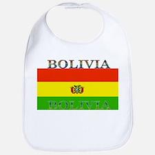 Bolivia Bolivian Flag Bib