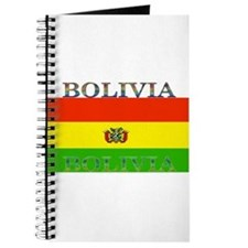 Bolivia Bolivian Flag Journal