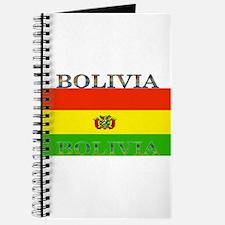 Bolivia Bolivian Flag Journal
