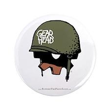 """Gear Head 3.5"""" Button"""