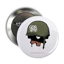 """Gear Head 2.25"""" Button"""