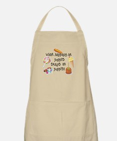 What Happens at Poppi's... BBQ Apron