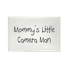 Mommy's Little Camera Man Rectangle Magnet