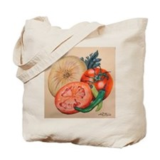 Itallian Veggies Tote Bag