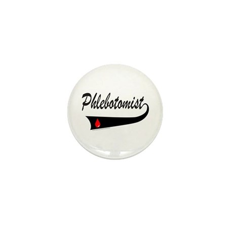 PHLEBOTOMIST Mini Button (10 pack)