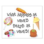 What Happens at VaVa's... Small Poster