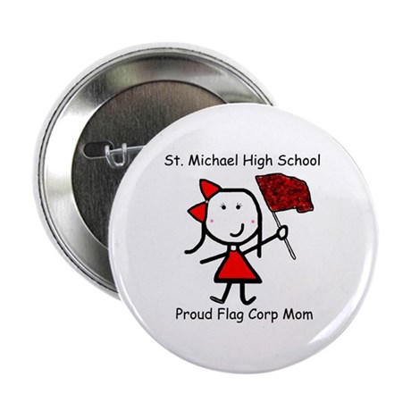 "Flag Corp - Proud Mom 2.25"" Button"