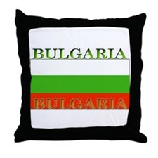 Bulgaria Bulgarian Throw Pillow